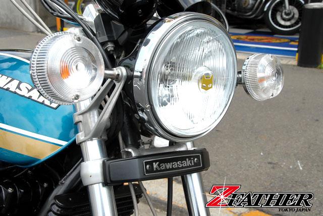 Kawasaki(カワサキ)汎用ブラック三つ又カバー
