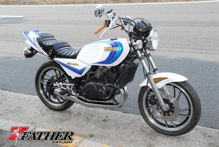 RZ250/350ccメッキ集合チャンバー