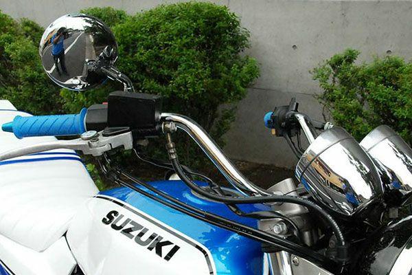 バイクハンドル Z2しぼり20cm