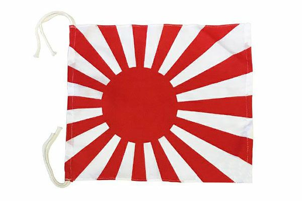 旗(ハタ)日章旗(小)