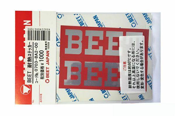BEET耐熱ステッカー