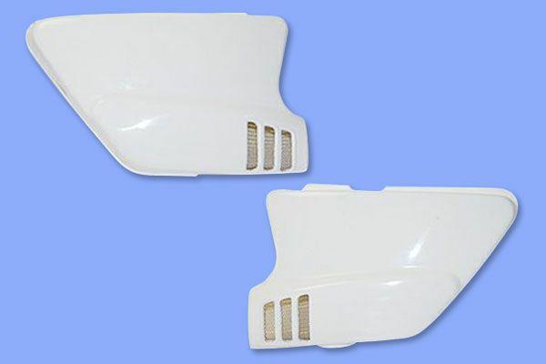 GT380初期型用ノーマルタイプサイドカバー(アミ付)