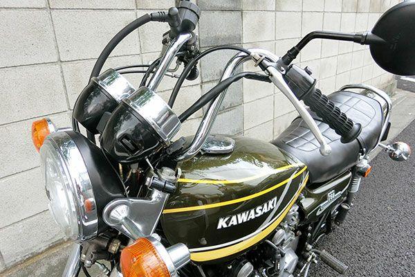 バイクハンドル タレハン一番シボリ27cm