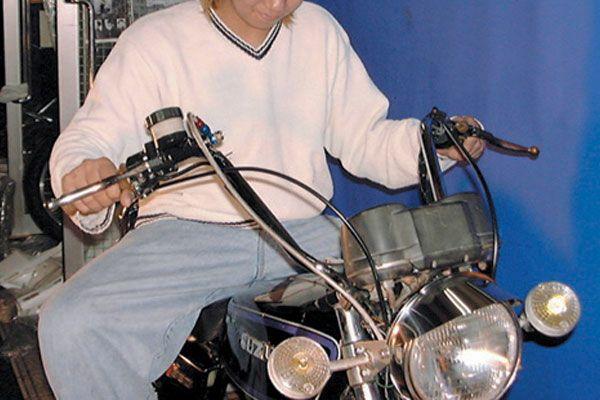 バイクハンドル エバハン30cm
