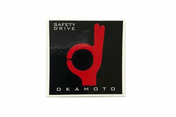 オカモト(OKAMOTO)ステッカー(小)